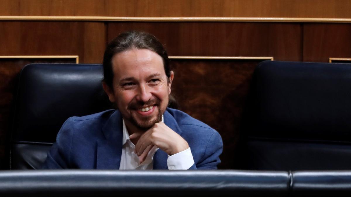 El vicepresidente segundo del Gobierno, Pablo Iglesias. EFE/Chema Moya/Archivo