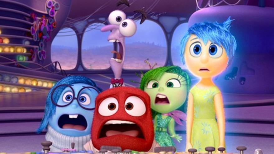 Las emociones protagonistas de 'Del revés' / Foto: Pixar