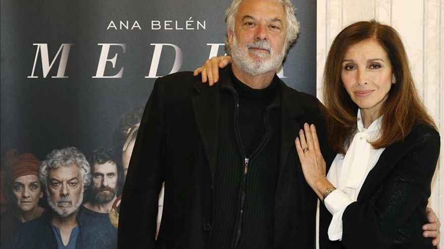 """Ana Belén vuelve a sus orígenes sobre el escenario del Español con """"Medea"""""""