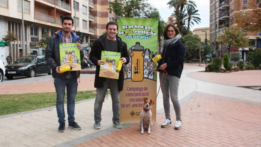 Presentación de la campaña de la concejalía de Bienestar Animal del Ayuntamiento de Castelló.