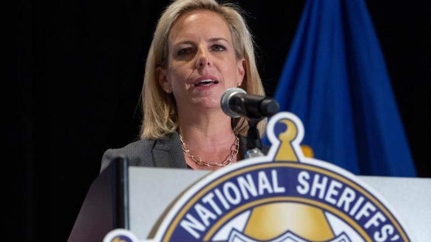 La jefa de Seguridad Nacional de EE.UU. y su número dos dejarán cargo el miércoles
