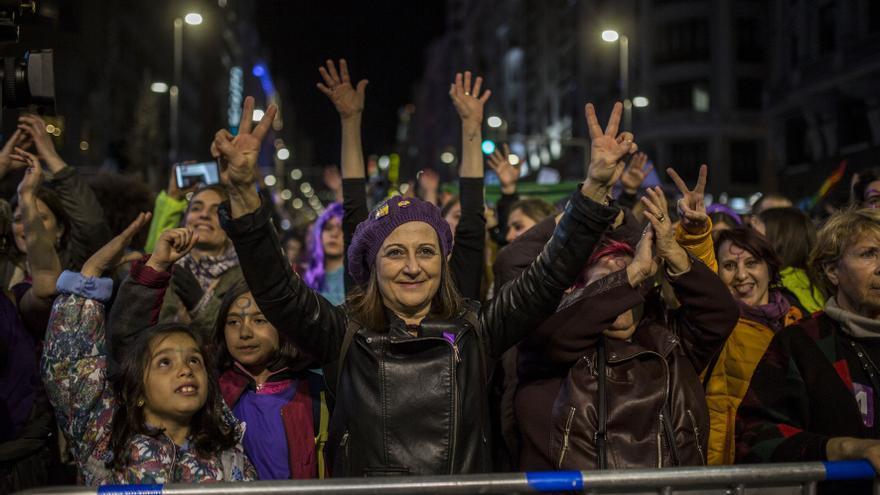 Objetivo conseguido: más de 350.000 manifestantes han lanzado un mensaje por la igualdad que ha resonado en todo el país