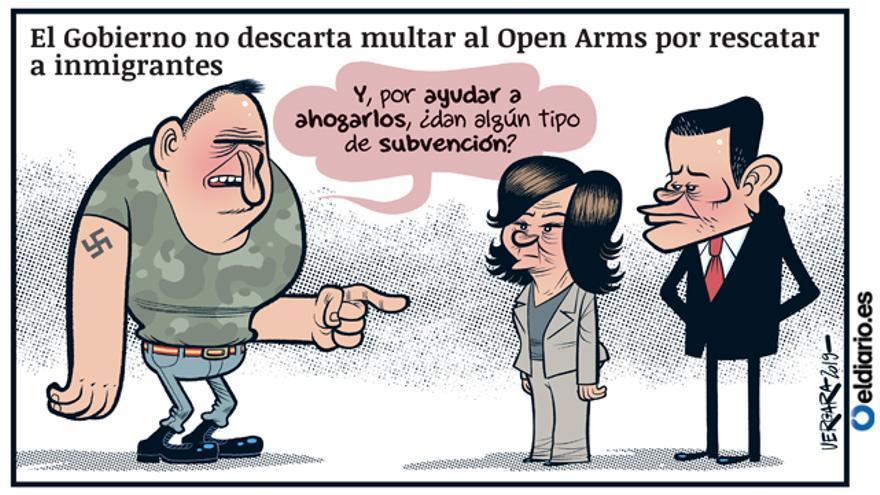 Multar al Open Arms
