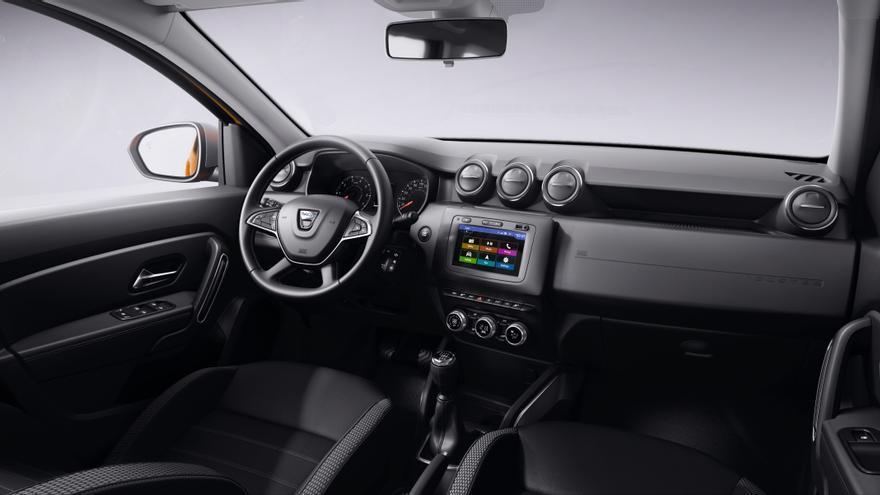 El habitáculo del Dacia Duster también se renueva.