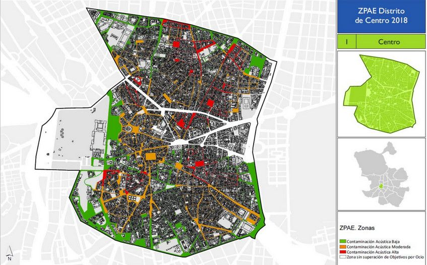Nuevo Plan Contra El Ruido En El Centro De Madrid Somos