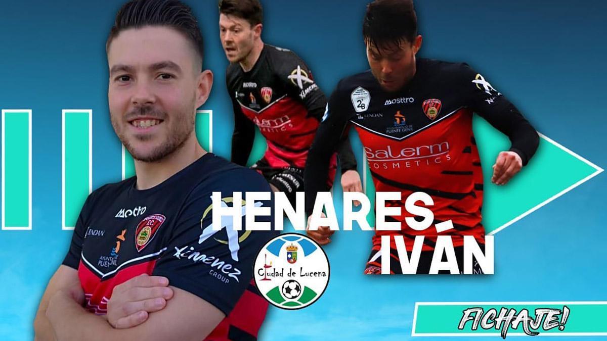 Ivan Henares, nuevo jugador del Ciudad de Lucena.