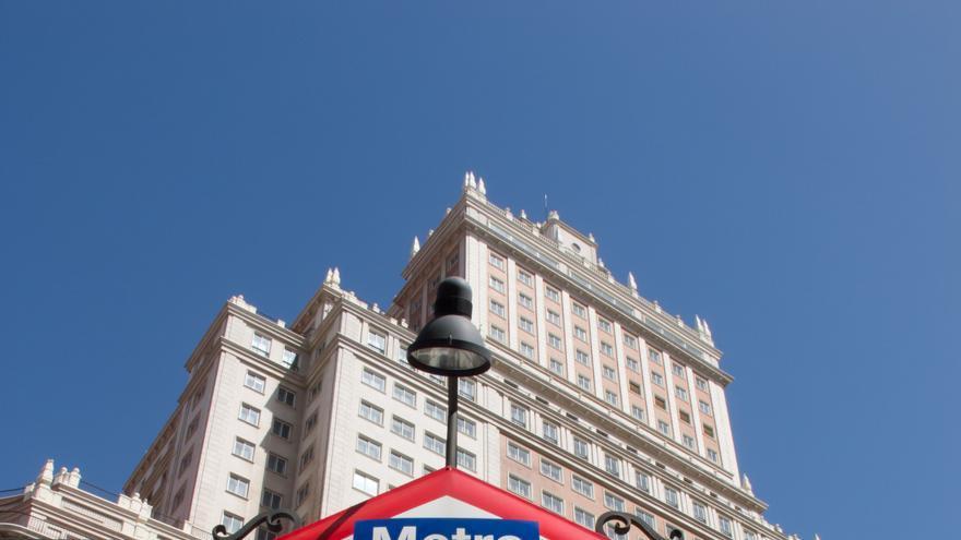 La fachada del Edificio España / Carlos Delgado