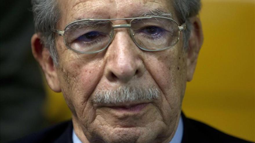 El juicio a Ríos Montt se celebrará el 5 de enero de 2015