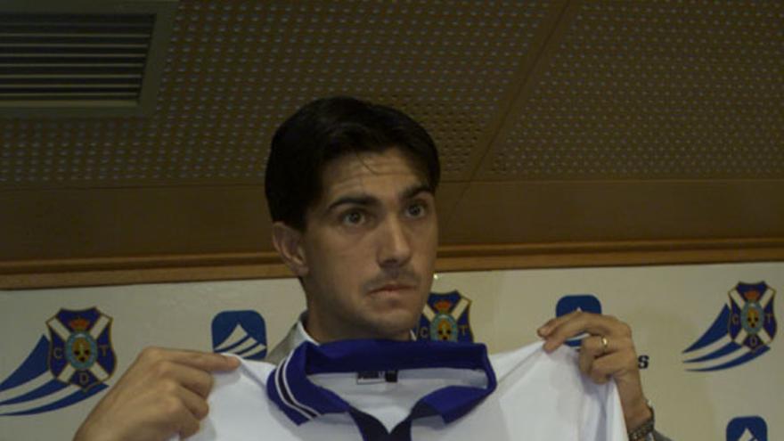 El nuevo entrenador del CD Tenerife, Pep Martí, (Página oficial CD Tenerife