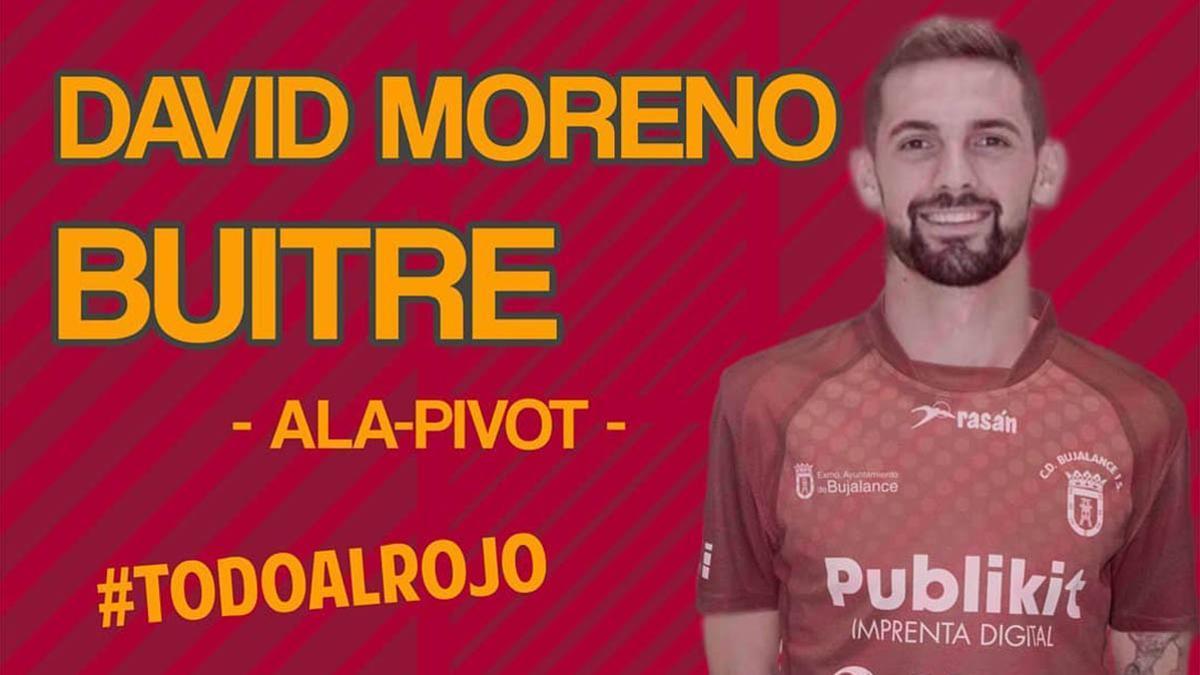 David Moreno, nuevo jugador del Bujalance FS