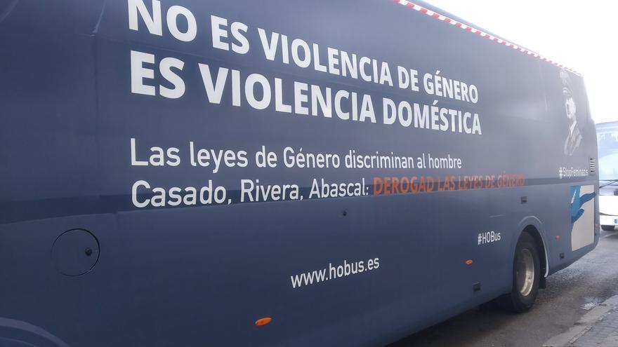 El nuevo bus antifeminista de HazteOir