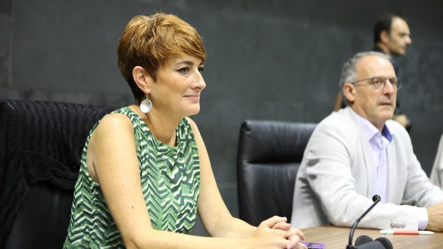 """EH Bildu advierte de que """"no es posible ninguna alternativa a la derecha en Navarra"""" sin ellos"""