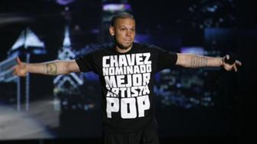 René Pérez, alias 'Residente', del grupo Calle 13