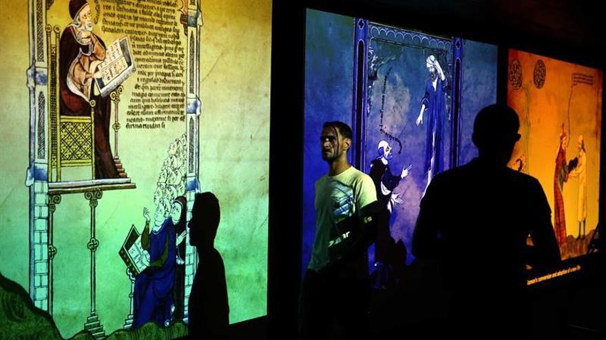Una exposición conecta el pensamiento de Ramon Llull con la contemporaneidad