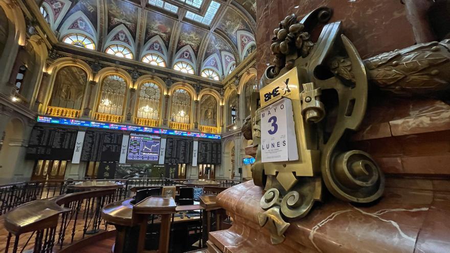 La Bolsa española sigue en zona de ganancias este mediodía y sube un 0,23 %