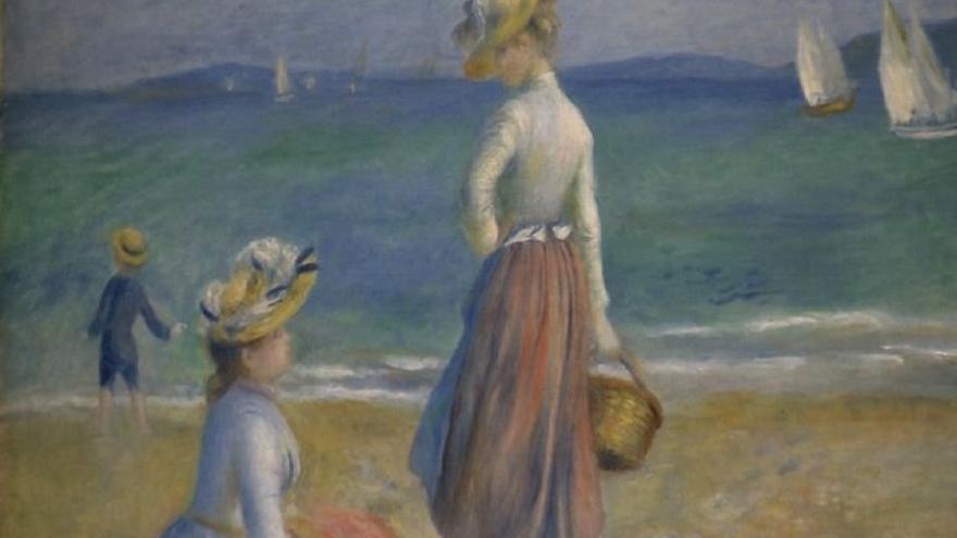 El Museo de Bellas Artes de Bilbao muestra hasta mayo 'Renoir: Intimidad', con 64 obras del pintor francés