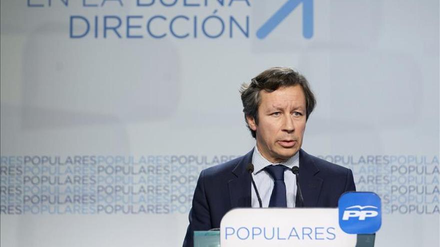 Carlos Floriano, vicesecretario general de Organización y Electoral del PP. \ Efe