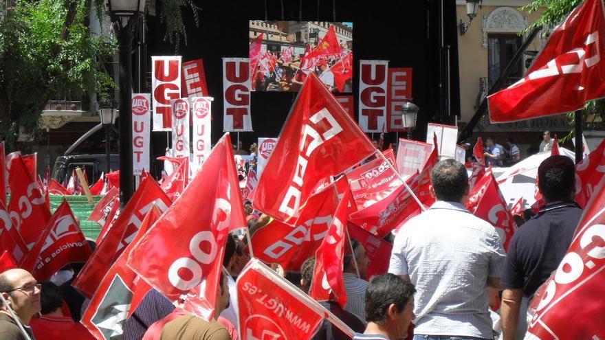 Huelga General, foto por UGT Azuqueca de Henares