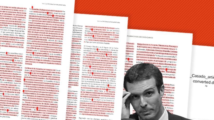 El artículo de Pablo Casado sometido al Turnitin