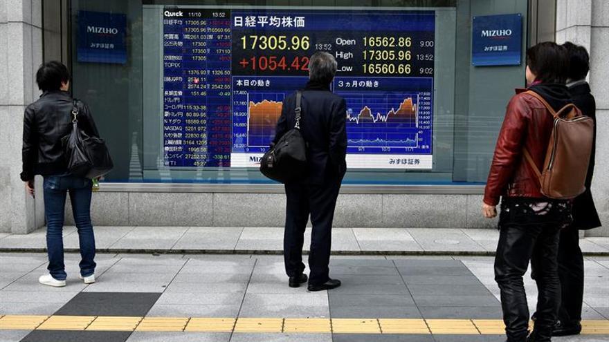 La Bolsa de Tokio abre con un avance del 0,98 por ciento