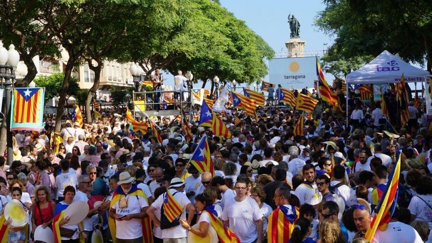 """Tarragona pide independencia para defender los intereses de Cataluña """"en el mundo"""""""