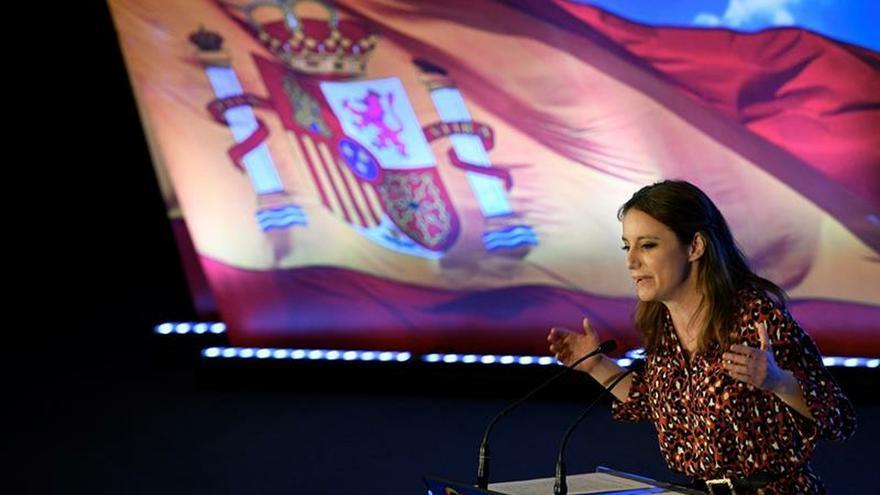 """Andrea Levy recalca que el PP """"asegura"""" el futuro del trasvase Tajo-Segura"""