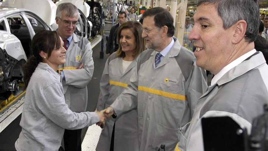 Juan Vicente Herrera ve en el plan de Renault una noticia positiva para toda la autonomía