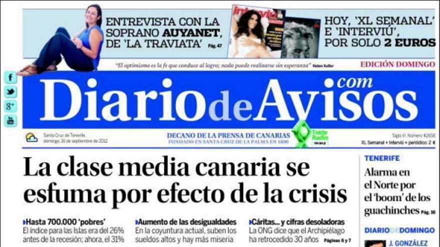 De las portadas del día (16/09/2012) #3