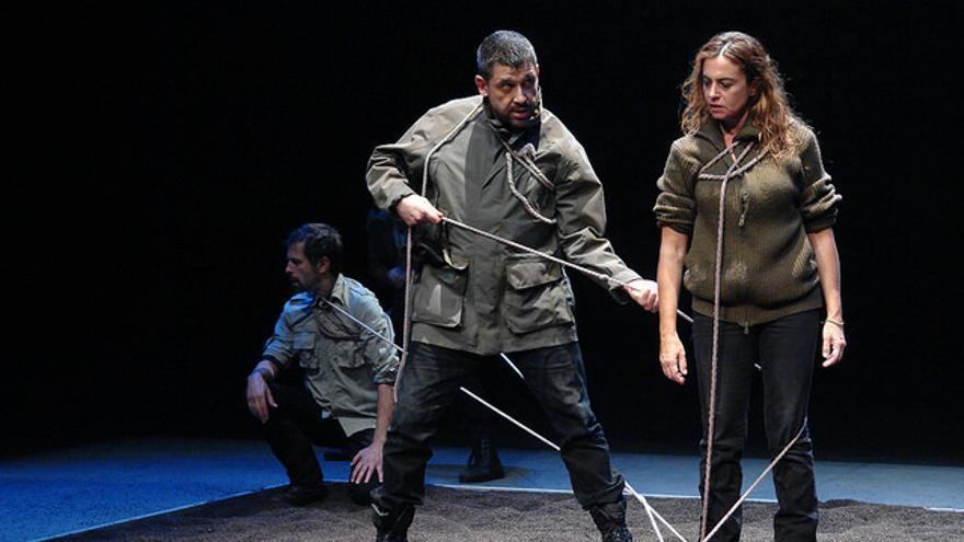 La obra 'Los justos', estrenada en octubre de 2013// 611 Teatro