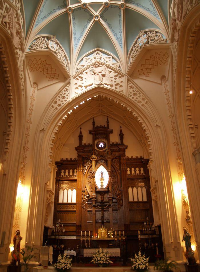 Iglesia de la Buena Dicha - retablo