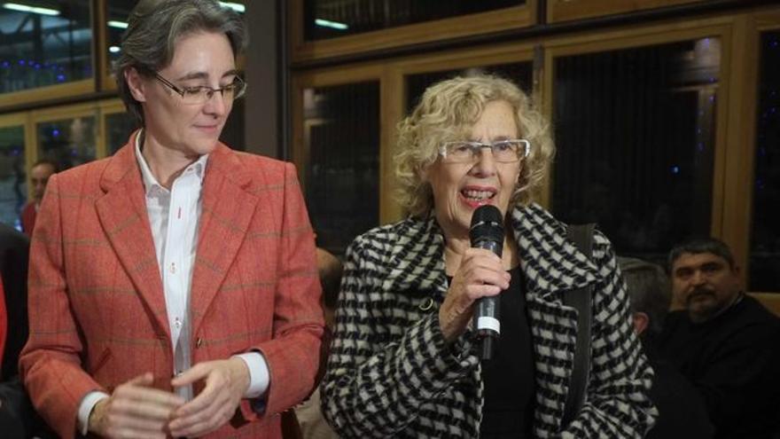 Marta Higueras y Manuela Carmena en una imagen de archivo