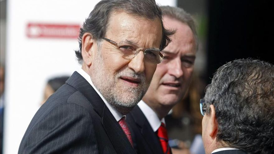 Rajoy llega al Congreso de Empresa Familiar sin la presencia de Castedo