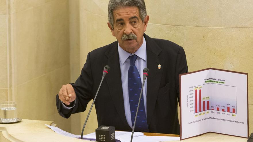 El presidente de Cantabria, Miguel Ángel Revilla. | MIGUEL ÁNGEL LÓPEZ
