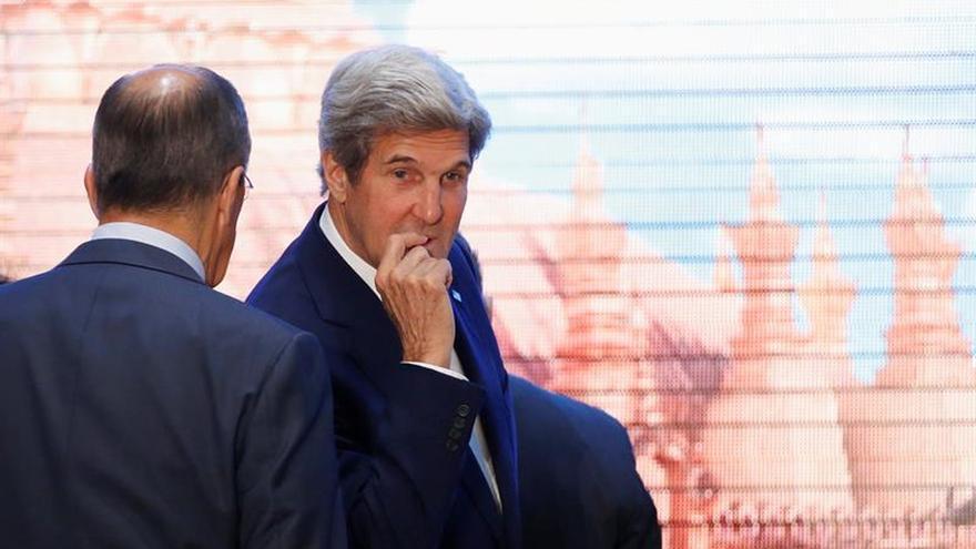 """Kerry señala """"progresos"""" en un futuro acuerdo con Rusia sobre Siria"""