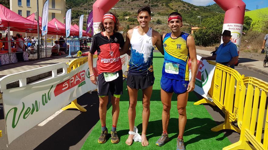 Joel de Paz gana la maratón IX Cabra Trail de Puntallana.