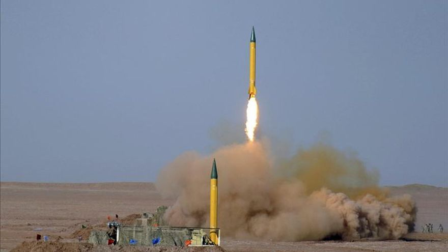 """Irán afirma que tiene miles de misiles que apuntan a """"intereses enemigos"""""""