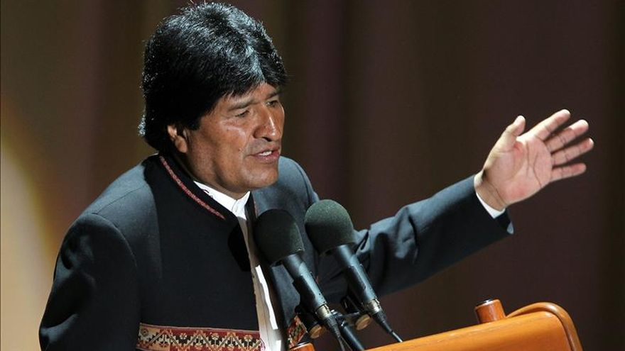 Evo Morales destaca el avance de participación política de mujeres en Bolivia