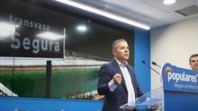 El secretario Ejecutivo de Agua del PP de Murcia, Jesús Cano