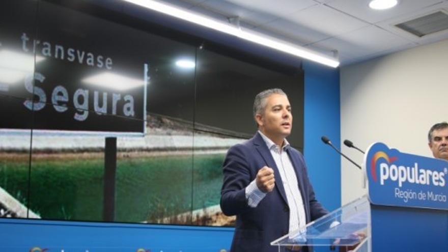 """El PP murciano advierte del """"nuevo hachazo"""" del Gobierno de España  al trasvase Tajo-Segura"""