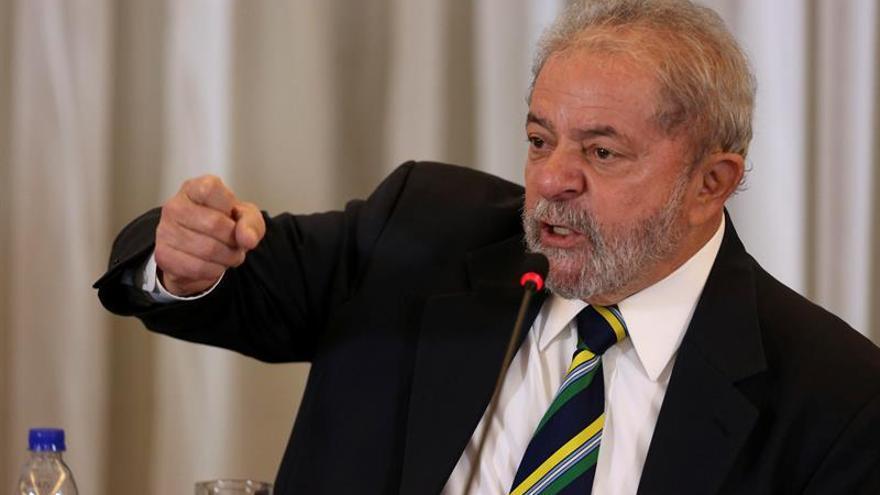 La Fiscalía reitera denuncia contra Lula y otros seis por obstrucción a la Justicia
