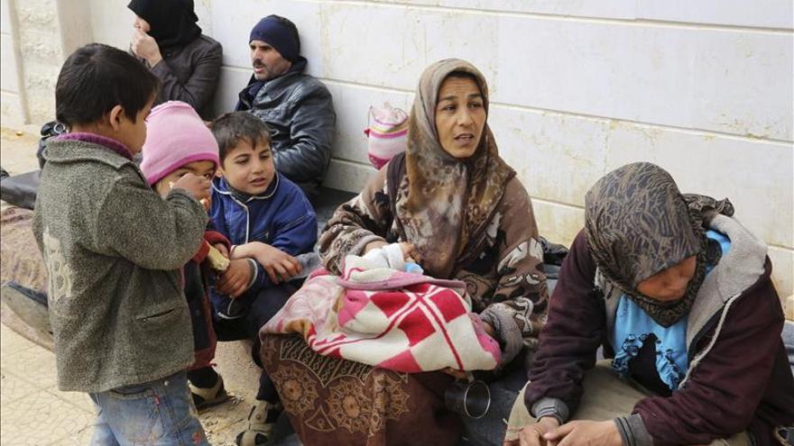 Al menos 48 muertos en los combates entre el régimen y el EI en el centro de Siria