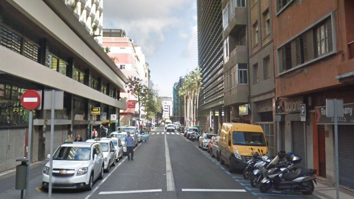 Calle Albareda en Las Palmas de Gran Canaria.