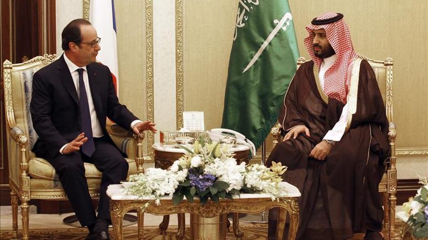 Hollande apoya acciones militares del CCG y entiende su preocupación con Irán