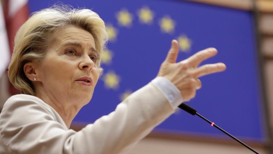 """Von der Leyen remite a Polonia y Hungría al TJUE si tienen """"dudas legales"""""""