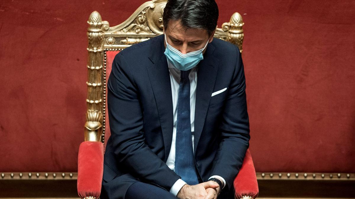 El primer ministro italiano, Giuseppe Conte. EFE/EPA/ROBERTO MONALDO / Archivo