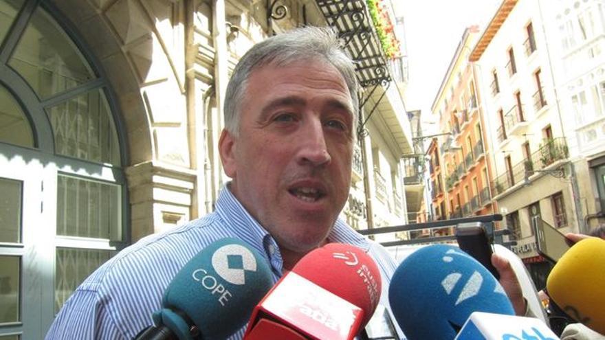 Joseba Asirón, alcalde de Pamplona.