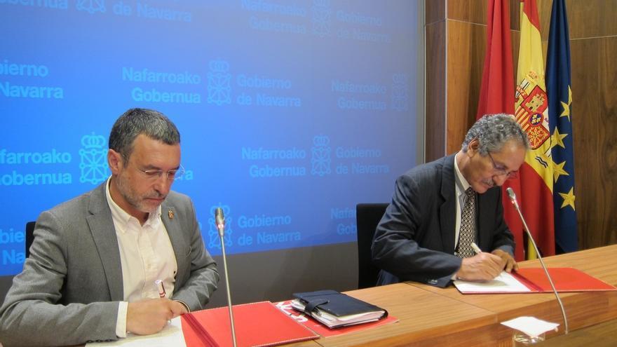 Navarra fija un marco estable de cooperación con el pueblo saharaui