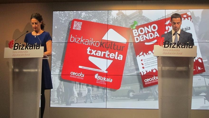Bizkaia adelanta este año a noviembre la campaña de 'Bono Denda', con 20.000 bonos con descuentos en comercios
