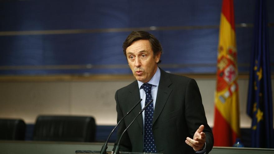 El portavoz parlamentario del Grupo Popular, Rafael Hernando.