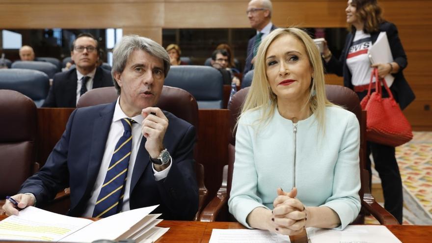 El 'número dos' de Cifuentes, Ángel Garrido, será presidente de la Comunidad en funciones hasta el Pleno